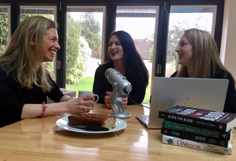 Crime Girl Gang: The True Crime Podcast with a Killer Twist - Victoria, Elle & Niki recording
